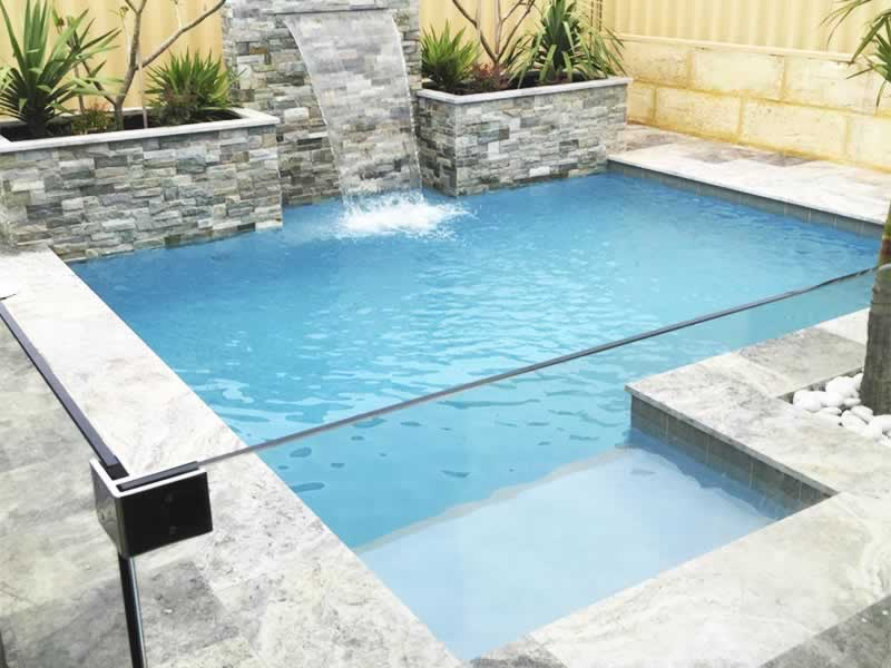 Concrete swimming pools perth construction process for Concrete pool construction