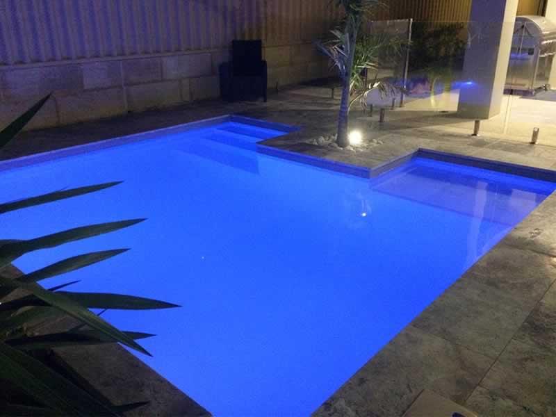 Concrete swimming pools perth construction process Concrete swimming pool construction