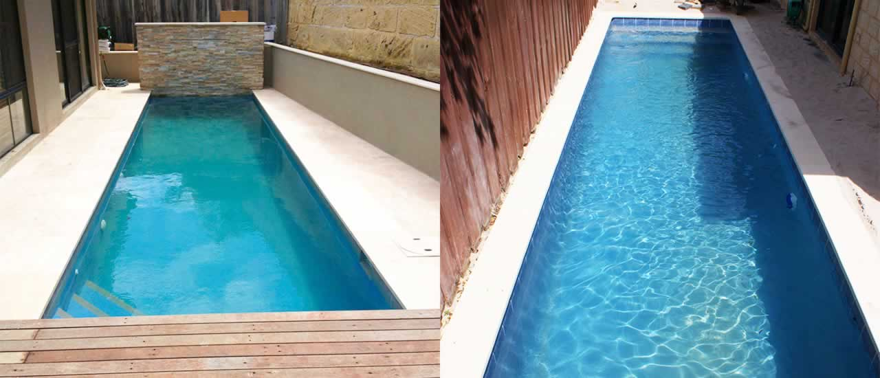 concrete lap pools perth