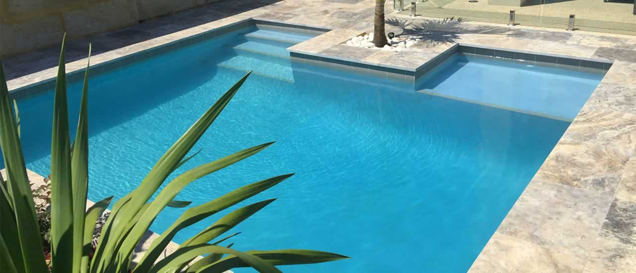 how to build a concrete plunge pool