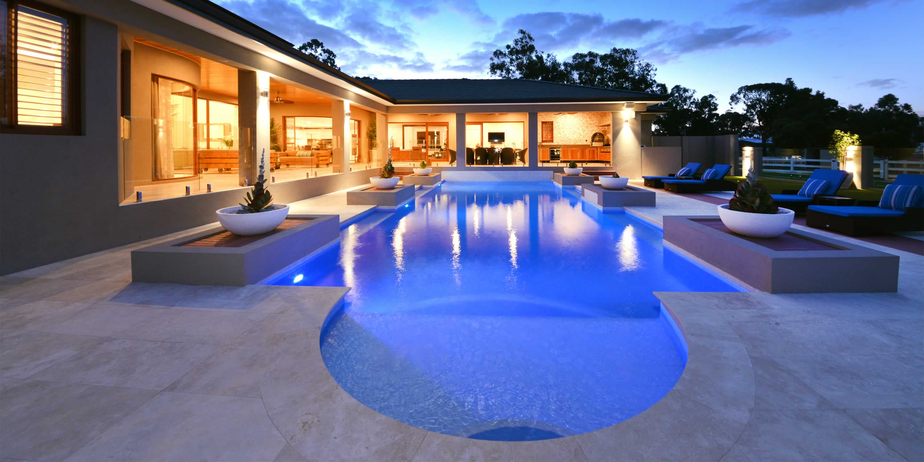 Concrete swimming pools perth from liverpools spas for Pool design perth